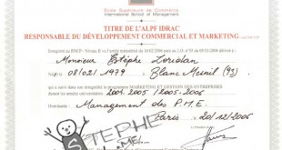 diplome master marketing gestion entreprises idrac paris